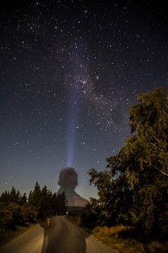 Mount Cook, Sterrenkijken in Nieuw-Zeeland von Willem Vernes