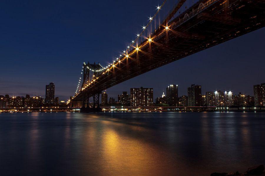 Manhattan bridge van Michel de Nijs Bik