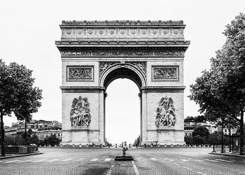 Arc de Triomphe, Paris, France/ black and white von Lorena Cirstea
