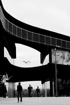 Almere stad centrum von Edwin Martens