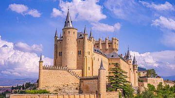 Alcázar à Ségovie - l'un des plus beaux châteaux d'Espagne sur Jessica Lokker