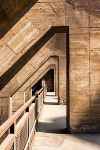 Beton Architectuur, Landschaftspark Duisburg, Duitsland