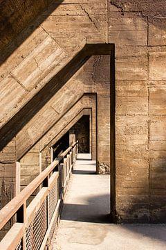 Beton Architectuur, Landschaftspark Duisburg, Duitsland van Guido van Veen