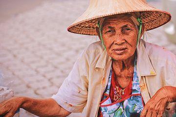 Portret van een koopvrouw van