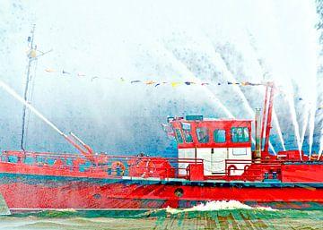 brandweerboot van Leopold Brix