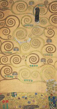 Werktekening voor de Stoclet-fries, deel 3, Gustav Klimt