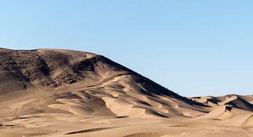 Iran: zandduinen tussen Yazd en Tabas van Maarten Verhees