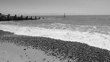 Southwold Beach ist einen Besuch wert, nicht nur wegen des Leuchtturms. von Babetts Bildergalerie