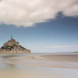 Mont Saint Michel, Frankreich, Normandie, Panorama von Patrick Verhoef