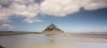 Mont Saint Michel, Frankreich, Normandie, Panorama