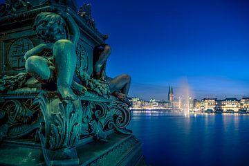 Hamburg, Alster, Binnenalster, Architetktur von Ingo Boelter