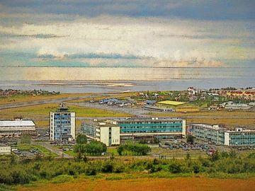 Zomer in Vatnsmyri, IJsland