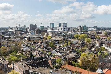 Centrum Utrecht vanaf Noorderlicht. sur De Utrechtse Internet Courant (DUIC)