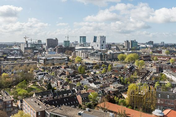 Centrum Utrecht vanaf Noorderlicht.