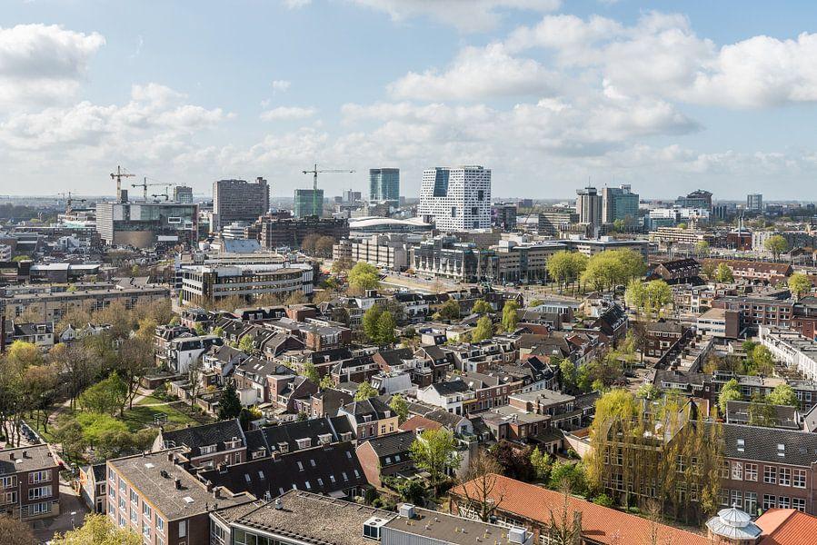 Centrum Utrecht vanaf Noorderlicht. van De Utrechtse Internet Courant (DUIC)