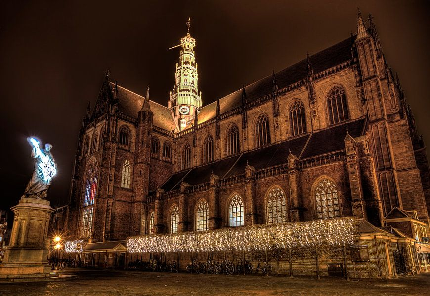 Haarlem at night tijdens Gitaarlem serious request 2014