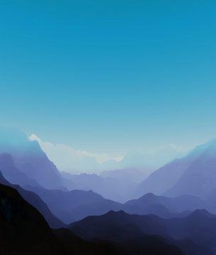 Prachtige bergen 13 van Angel Estevez