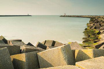 Het strand van Scheveningen - 5 van Damien Franscoise