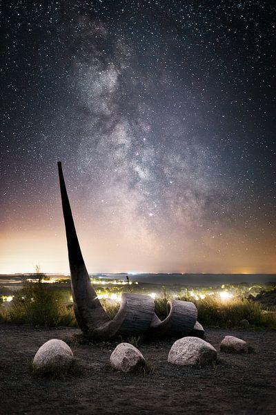 Galaktische Spirale von Florian Schmidt