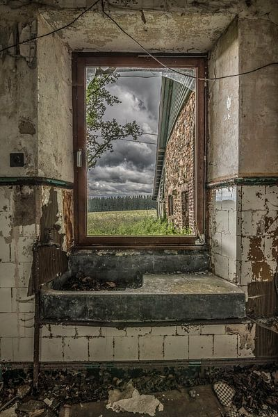 picture to the outside world van Coco Goes Urbex