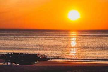 Sonnenuntergang auf Sylt 2 von Marc Heiligenstein