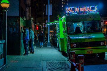 street food in new york, amerika von marijn zeilstra