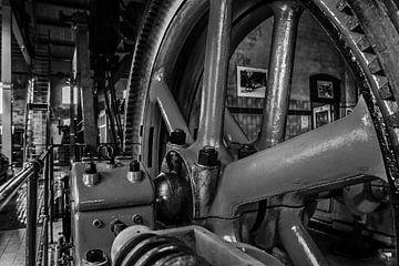 Anlage der Dampfmaschinenindustrie von Martin Albers Photography