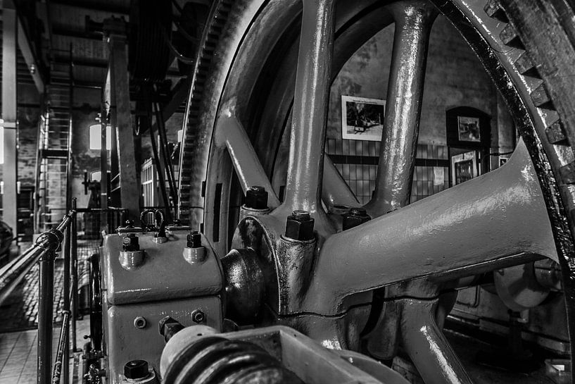 stoommachine industrie fabriek van Martin Albers Photography