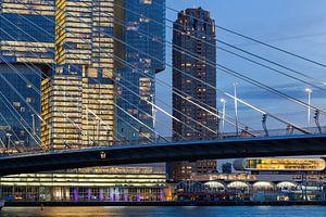 Modern stadsgezicht van Rotterdam