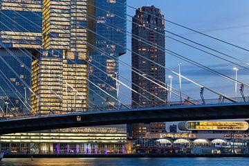 Modern stadsgezicht van Rotterdam van Peter de Kievith Fotografie