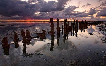 Waddenzee, Nederland van Peter Bolman
