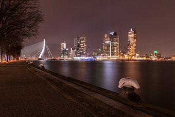 Rotterdam vanaf de haven van Elles Rijsdijk