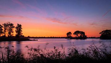 Sonnenaufgang Reeuwijk von Wim van der Wind