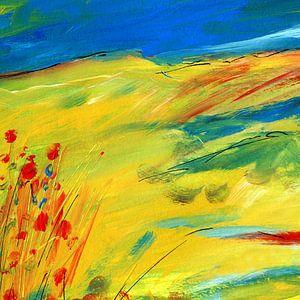 Bloemen in de stilte van Claudia Gründler