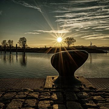 zonsondergang van Lysanne Artcrafx