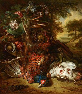 Nature morte de chasse, Jan Weenix
