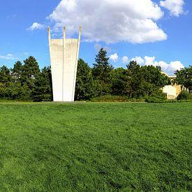 Monument Berlijnse Luchtbrug (Hungerharke) van Frank Herrmann