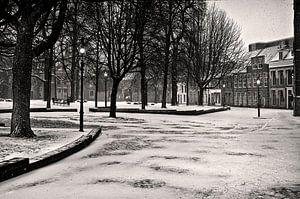 Sneeuwsfeer in Groningen