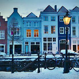 Der Brede Haven in Winterstimmung von Jasper van de Gein Photography