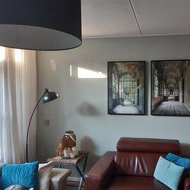 Klantfoto: Diepte van Wim van de Water, op canvas