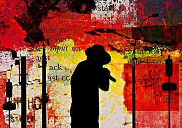 Urban musician van PictureWork - Digital artist