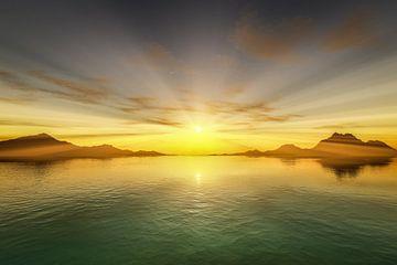 Sonnenuntergang am Meer von Markus Gann