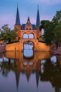 De Waterpoort in Sneek van Marga Vroom