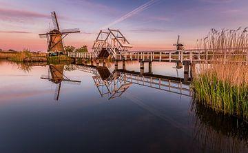 Zonsopgang Kinderdijk   von Patrick Rodink