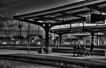 Station Gent-Sint-Pieters von Roel Van Cauwenberghe