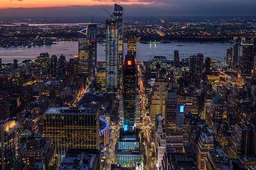 Blick auf den East River sur Kurt Krause