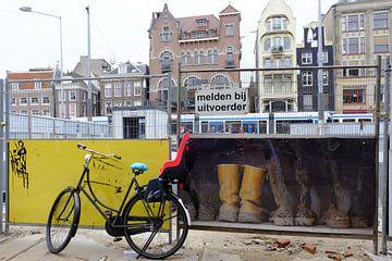 """Amsterdam, het Rokin """"op de schop"""" van Marian Klerx"""