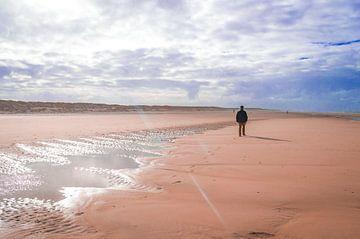 Op het strand van Texel van Brigitte Blaauw