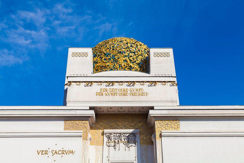 Vienna Secession in Austria van Werner Dieterich
