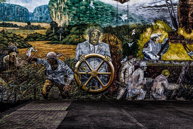 Mural Global Tor 5 - Detail von Petra Dreiling-Schewe
